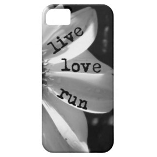 Live Love Run by Vetro Designs iPhone 5 Covers