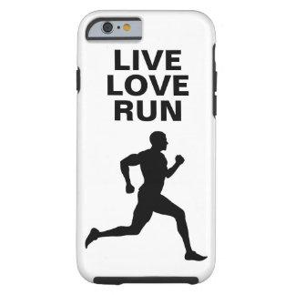 Live, Love, Run Marathon runner iphone6 case