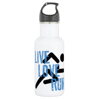 Live, Love, Run Water Bottle