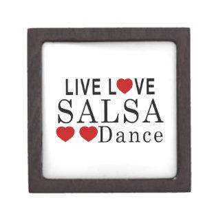 LIVE LOVE SALSA DANCE GIFT BOX