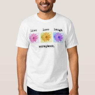 live love scrap shirt