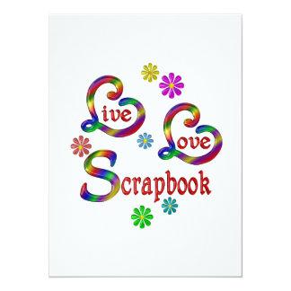 Live Love Scrapbook Card