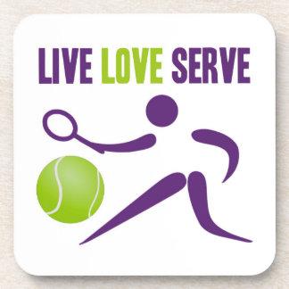 Live. Love. Serve. Coaster