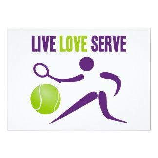 Live. Love. Serve. Personalized Announcement