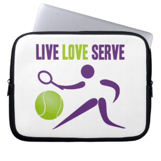 Live. Love. Serve. Laptop Sleeve