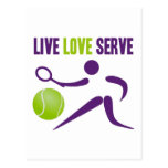 Live. Love. Serve. Postcard