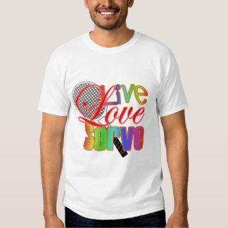 Live Love Serve Tennis T-shirt