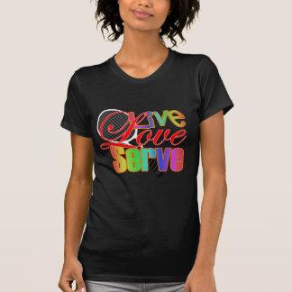 Live Love Serve Tennis Tee Shirt