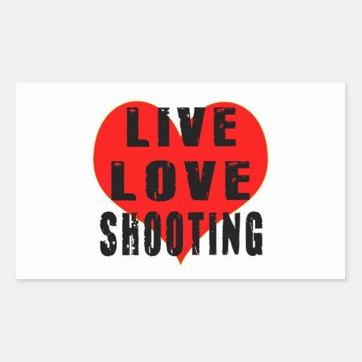 Live Love Shooting Sticker