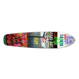 live love skate board