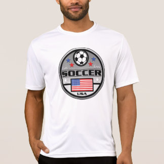 Live Love Soccer America Shirts