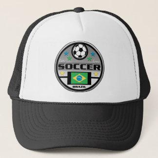 Live Love Soccer Brazil Trucker Hat