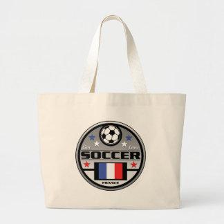 Live Love Soccer France Jumbo Tote Bag