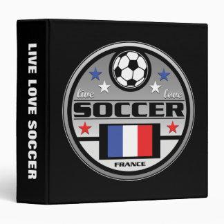 Live Love Soccer France Binder