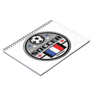 Live Love Soccer France Notebook