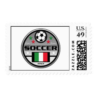 Live Love Soccer France Postage Stamp