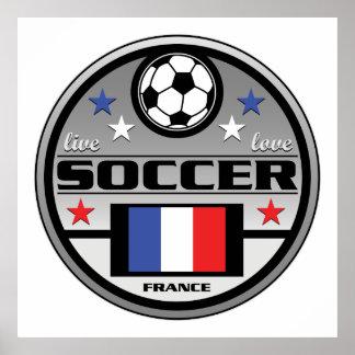 Live Love Soccer France Poster