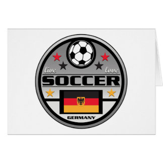 Live Love Soccer Germany Card