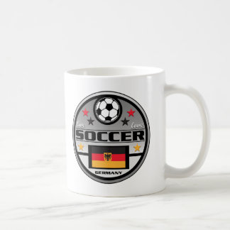 Live Love Soccer Germany Coffee Mug