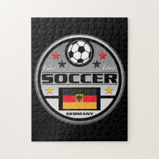 Live Love Soccer Germany Jigsaw Puzzle