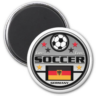 Live Love Soccer Germany Magnet