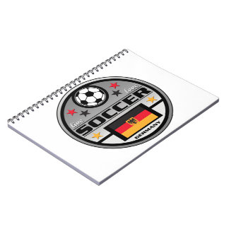 Live Love Soccer Germany Notebook