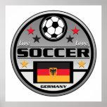 Live Love Soccer Germany Poster