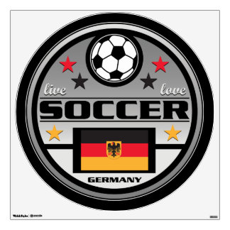 Live Love Soccer Germany Wall Sticker