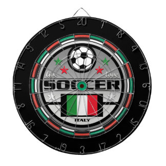 Live Love Soccer Italy Dartboard With Darts