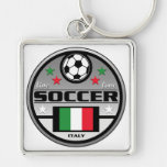 Live Love Soccer Italy Key Chains
