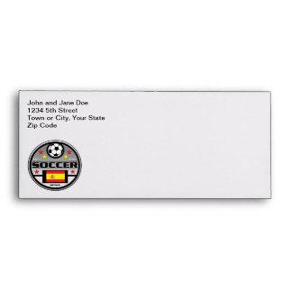 Live Love Soccer Spain Envelopes