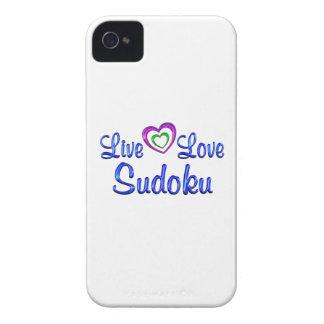 Live Love Sudoku iPhone 4 Cover
