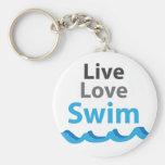 Live_Love_Swim Llavero