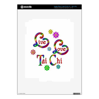 Live Love Tai Chi Decals For iPad 3