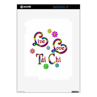 Live Love Tai Chi Decals For The iPad 2