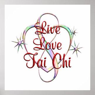 Live Love Tai Chi Poster
