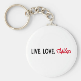 Live Love Tango cool design! Keychains