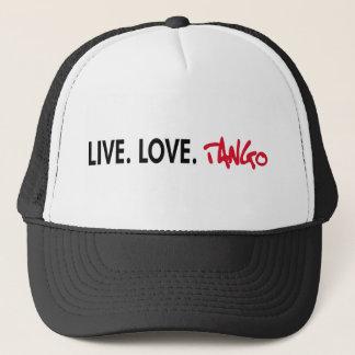 Live Love Tango cool design! Trucker Hat
