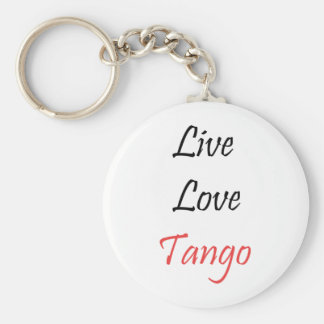 Live Love Tango exclusive design! Key Chains