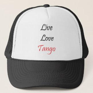 Live Love Tango exclusive design! Trucker Hat