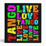 Live love tango vinyl binders