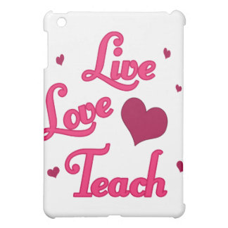 Live Love Teach iPad Mini Cases