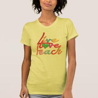 live love teach t shirt