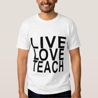 Live Love Teach Women's T-Shirts.png Shirt