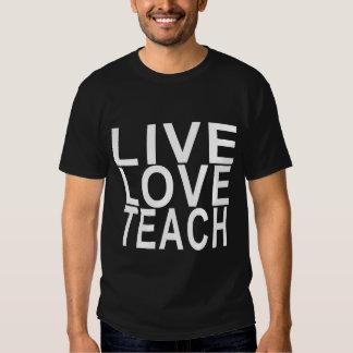 Live Love Teach Women's T-Shirts.png T Shirt