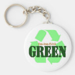 Live-Love-Think GREEN Keychain