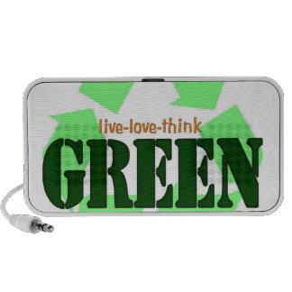 Live-Love-Think GREEN Speaker
