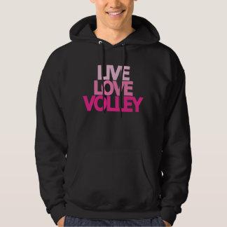 Live Love Volley Hooded Sweatshirt