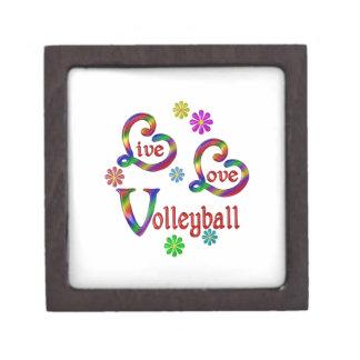 Live Love Volleyball Keepsake Box