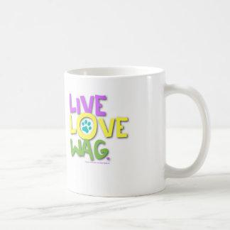 Live Love Wag Coffee Mug. Coffee Mug